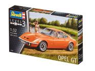 Revell mudelauto Revell Opel GT 1:32