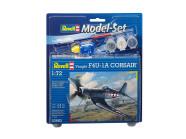 Revell mudellennuk Model Set Vought F4U-1D Corsair 1:72