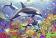 Ravensburger pusle Veealune maailm 2x24 tk