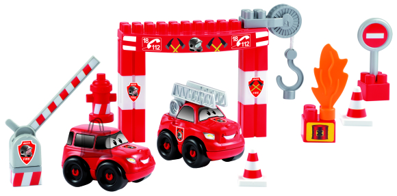 Ecoiffier tuletõrjeautode jaam