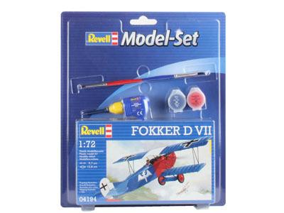 Revell mudelikomplekt Fokker D VII 1:72