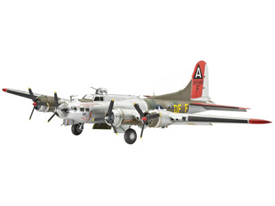 Revell mudellennuk B-17 Flying Fortress 1:72