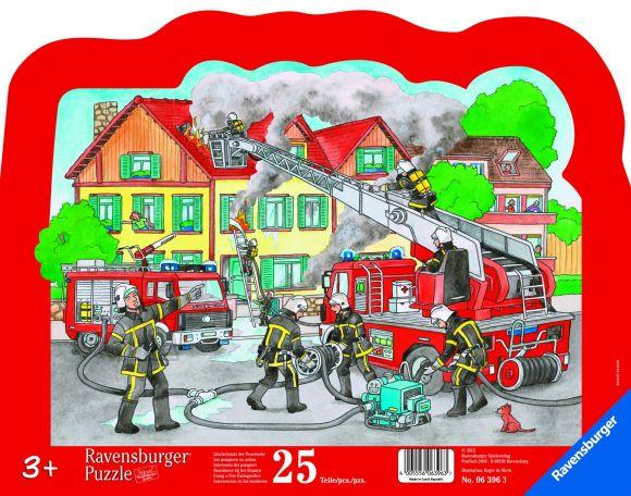 Ravensburger plaatpusle Tulekahju kustutamas 25 tk