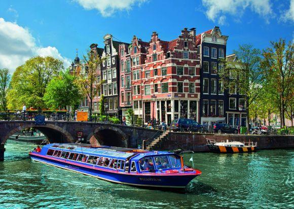 Ravensburger pusle Kanalid Amsterdamis 1000 tk