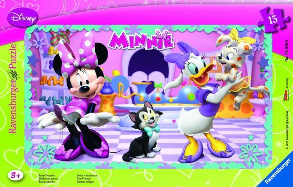 Ravensburger plaatpusle Minnie 15 tk