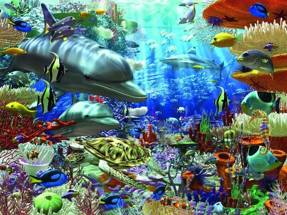 Ravensburger pusle Ookeani imed 1500 tk
