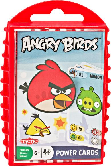 Tactic mängukaardid Angry Birds Classic