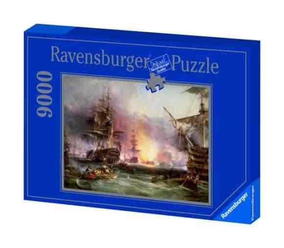 Ravensburger pusle Laevad 9000 tk