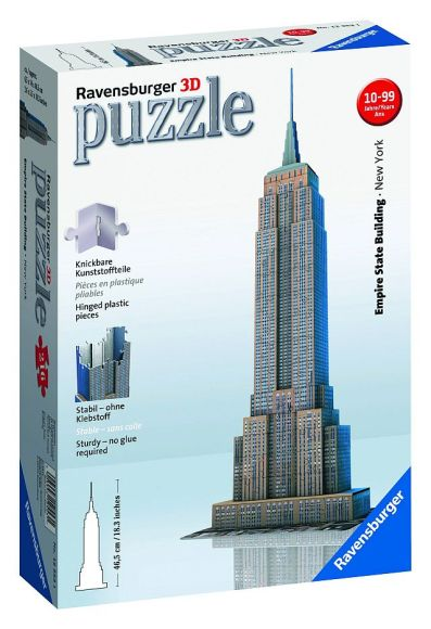 Ravensburger 3D pusle Empire State Building 216 tk