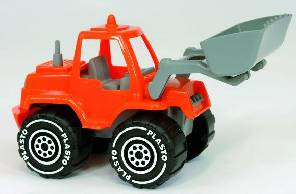 Plasto buldooser 23 cm
