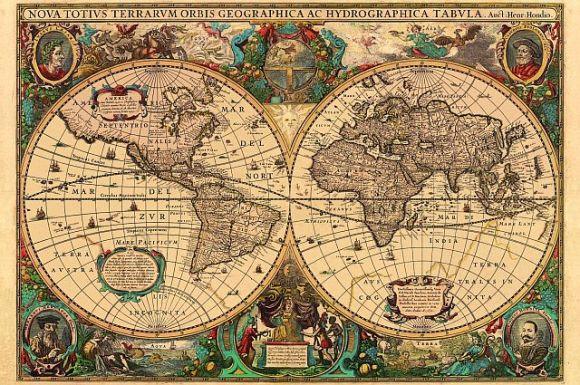 Ravensburger pusle Maailmakaart 1630.a. 5000 tk.