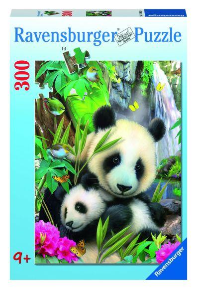 Ravensburger pusle Pandakarud 300 tk