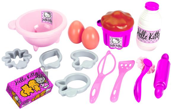 Ecoiffier koogiküpsetuse komplekt Hello Kitty