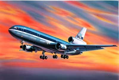 Revell mudellennuk McDonell Douglas DC-10 `KLM` 1:320