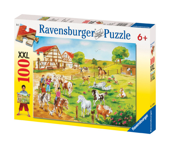 Ravensburger pusle Hobuste farm XXL 100 tk