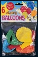 Bini Balloons õhupallid tähekestega