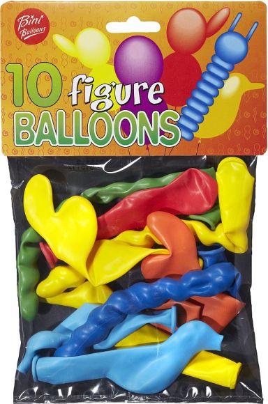 Bini Balloons figuurõhupallid 10 tk