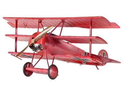 Revell mudellennuk Fokker DR.1  1:48