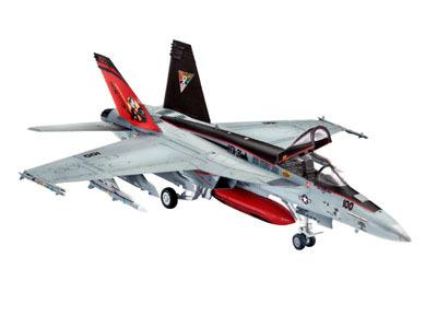 Revell mudellennuk F/A-18E Super Hornet 1:144