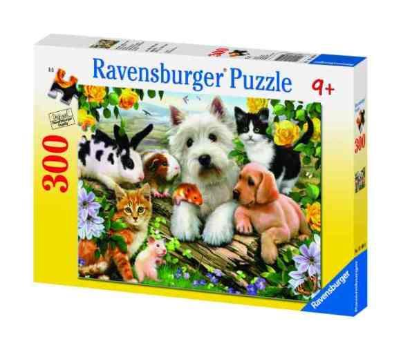 Ravensburger pusle Õnnelikud loomad 300 tk