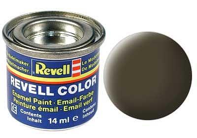 Revell emailvärv mustjasroheline matt