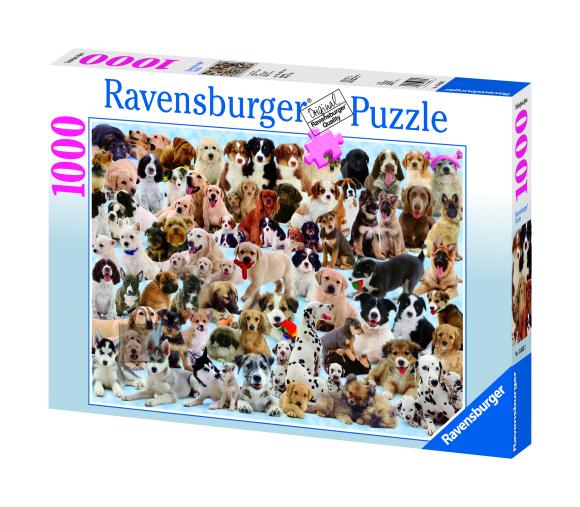 Ravensburger pusle Koerad 1000 tk