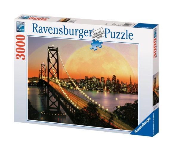 Ravensburger pusle San Francisco õhtul 3000 tk