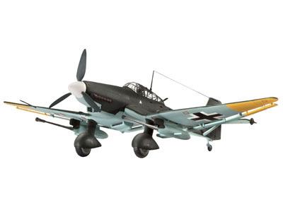 Revell mudellennuk Ju 87 G-2 `Tank Buster` 1:72