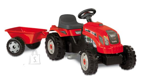 Smoby traktor järelkäruga