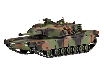 Revell mudeltank M 1 A1 (HA) Abrams 1:72