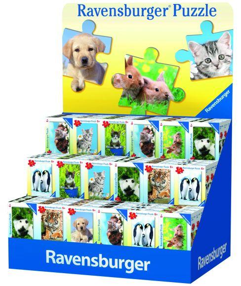 Ravensburger minipusle Loomapojad 54 tk
