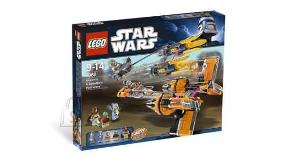 LEGO komplekt Star Wars Anakin`s and Sebulba`s Podracers