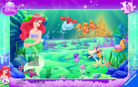 Ravensburger plaatpusle Ariel 15 tk
