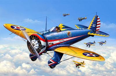 Revell mudellennuk P-26A 1:72