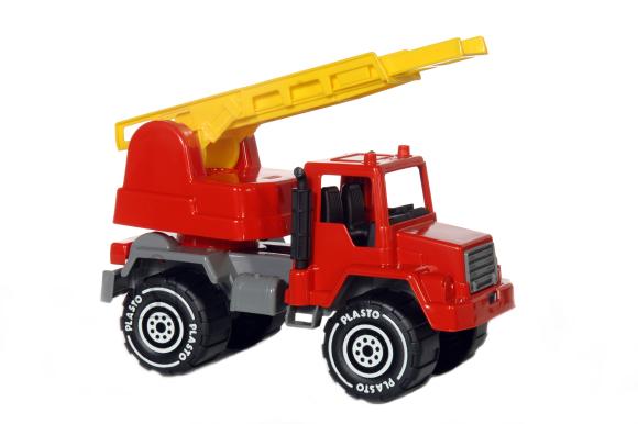 Plasto tuletõrjeauto 30 cm