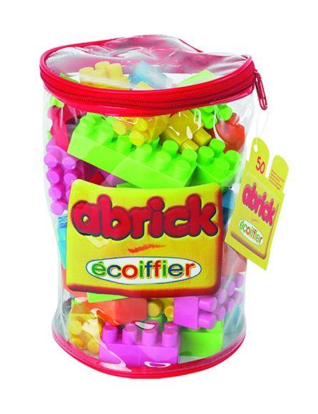 Ecoiffier klotsid kotis 50 tk