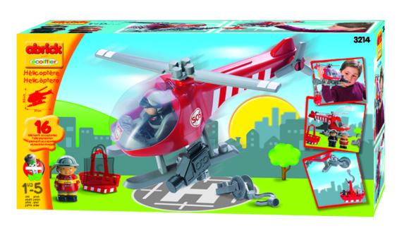 Ecoiffier tuletõrjehelikopter