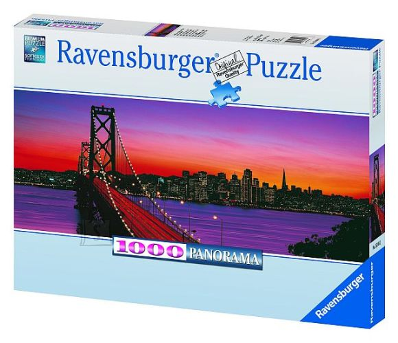 Ravensburger Ravensburger panoraampuzzle 1000 tk San Francisco