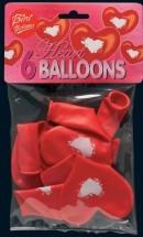 Bini Balloons südamekujulised õhupallid