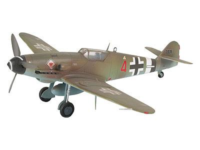 Revell mudellennuki komplekt Messerschmitt Bf 109G-10  1:72