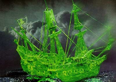 Revell mudellaev Pirate Ghostship 1:96