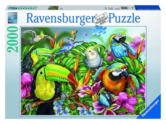 Ravensburger pusle Troopilised linnud 2000 tk