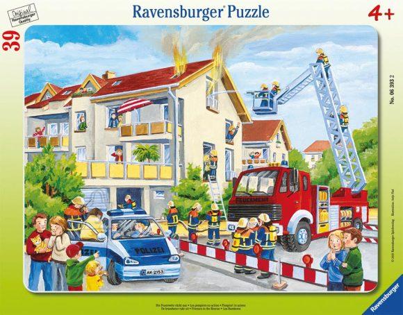 Ravensburger plaatpusle Tuletõrjuja päästmas 39 tk