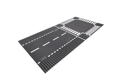 LEGO City maanteeplaat