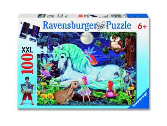 Ravensburger XXL pusle Nõiutud mets 100 tk