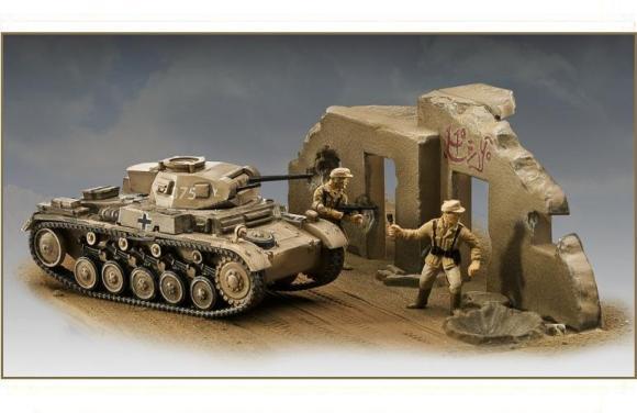 Revell mudeltank Panzer II Ausf. F 1:76