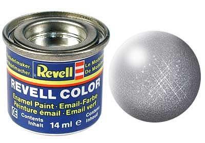 Revell emailvärv teras metallik