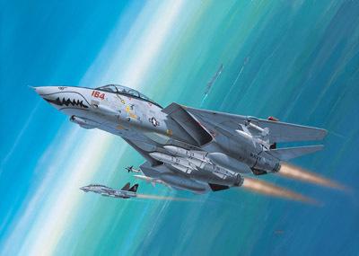 Revell mudellennuk F-14D Super Tomcat 1:144