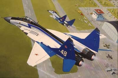 Revell mudellennuk Mig-29 `The Swifts`  1:144