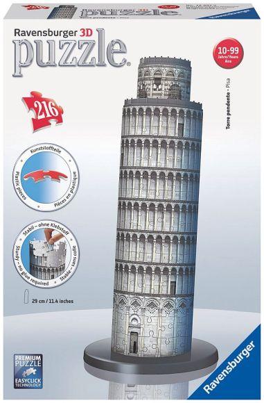 Ravensburger 3D puzzle Pisa torn 216 tk